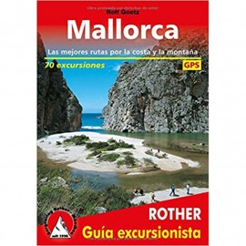 Guía ROTHER 70 excursions per Mallorca