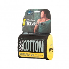 sábana SEA TO SUMMIT traveller cotton liner
