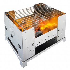 ESBIT BARBACOA PLEGABLE INOX