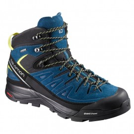 SALOMON SHOES X ALP MID L BLACKPOSEIDONSULPHURSPRIN