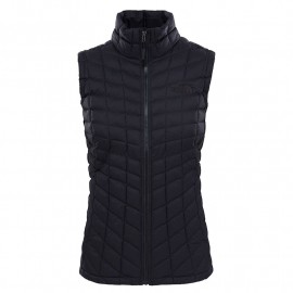 The North Face W THERMOBALL VEST TNF BLACK MATTE