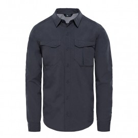 The North Face M L/S SEQUOIA SHIRT ASPHALT GREY