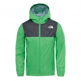 chaqueta THE NORTH FACE zipline rain green classic