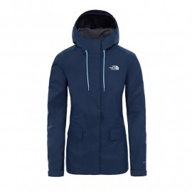 jaqueta THE NORTH FACE extent II shell mujer navy