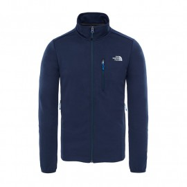 chaqueta THE NORTH FACE extent II fleece navy