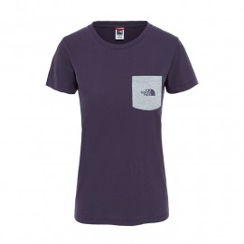 The North Face W EXTENT II LOGO TEE TNF LIGHT GREY HEATHER