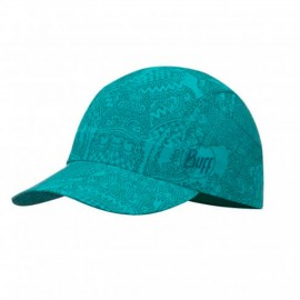 gorra BUFF Aser Turquoise mujer
