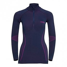 ODLO W EVOLUTION 1/2 ZIP GREY
