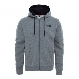 The North Face M OPEN GATE FULL ZIP HOODIE TNFMDMGRYHTR(STD)/TNFBLCK