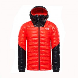 The North Face SUMIT L3 DOWN HODIE FIERY RED/TNF BLACK