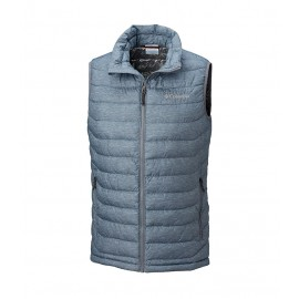 COLUMBIA POWDER LITE VEST GREY