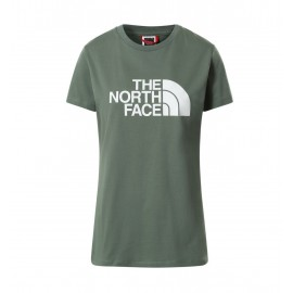 The North Face W S/S EASY TEE LAUREL WREATH GREEN