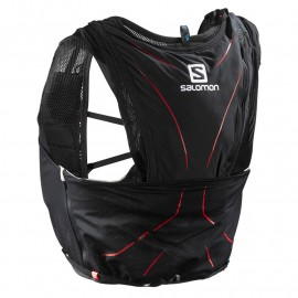SALOMON ADV SKIN 12 NH BLACK/MATADOR