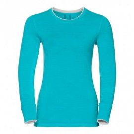 ODLO CREW NATURAL MERINO BLUE RADIANCE