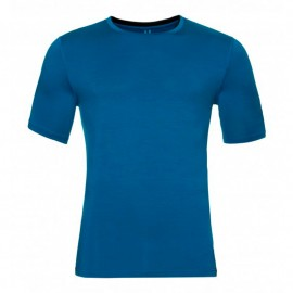 ODLO S/S NATURAL MERINO BLUE