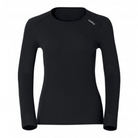 ODLO SHIRT L/S CREW NECK WARM CAM BLACK PIRATE
