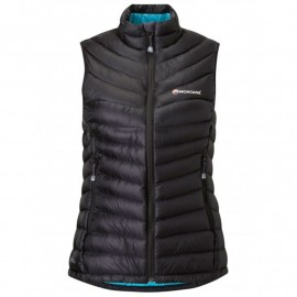 MONTANE FEATHERLITE DOWN VEST BLACK