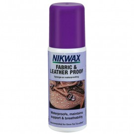 waterproofing NIKWAX woven and leather
