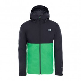 The North Face M EXTENT II SHELL JACKET TNF BLACK/CLASSIC GREEN
