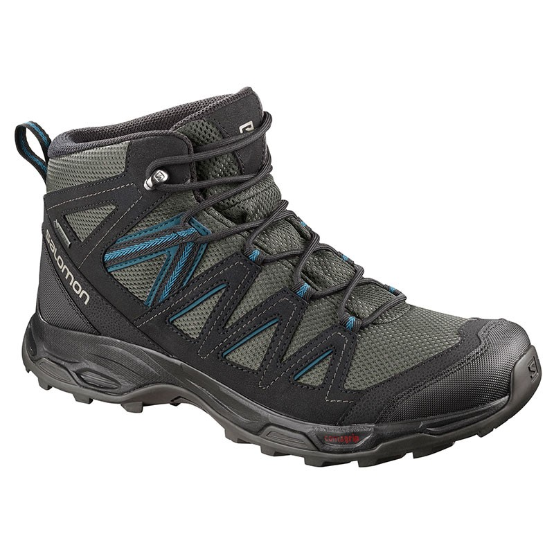 Salomon Hillrock Mid Gore Tex Outdoor Shoes