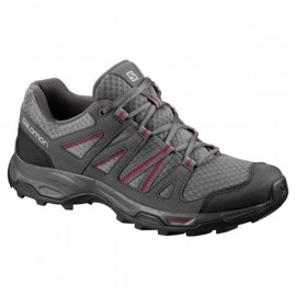 SALOMON SHOES REDWOOD 3 W QUIETSHADEMAGNETBEETRED