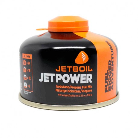 JETBOIL CARTUCHO DE 100 GR SIN COLOR