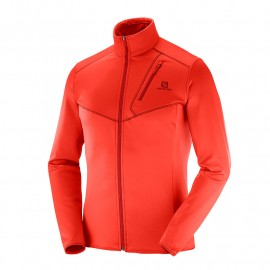 forro polar SALOMON discovery FZ red