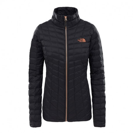 The North Face W THERMOBALL FZ JKT TNF BLACK/METALLIC COPPER