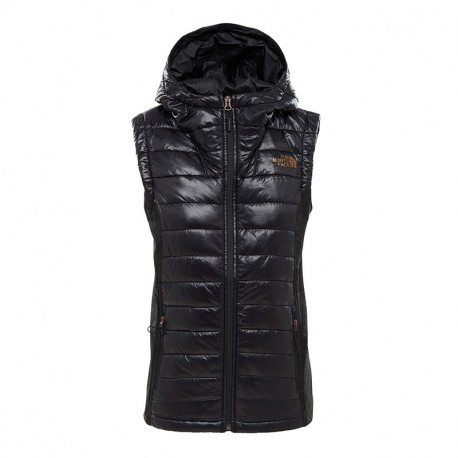 The North Face W MASHUP 2 VEST TNFBLACKSHINE/TNFBLACKHTR