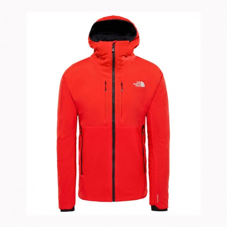 The North Face M SUMMIT L3 VENTRIX 2.0 HOODIE FIERY RED/FIERY RED