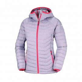 chaqueta COLUMBIA powder lite hooded mujer
