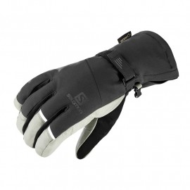 SALOMON GLOVES PROPELLER GTX M BLACK/GREY