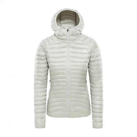 The North Face W IMPENDOR DOWN HD TIN GREY