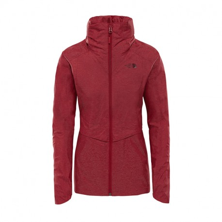 The North Face W INLUX DRYVENT JKT RED