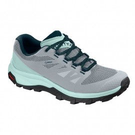 SALOMON OUTLINE GTX W PEARL BLUE/IC PEARLBLUEICYMORNREFLECTIN