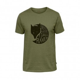 FJALL RAVEN FOREVER NATURE T-SHIRT M GREEN