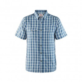 FJALL RAVEN ABISKO COOL SHIRT SS M UNCLE BLUE