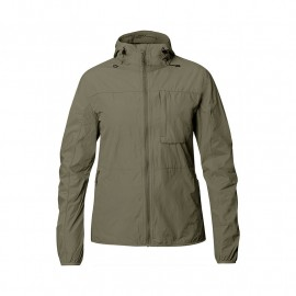 FJALL RAVEN HIGH COAST WIND JACKET W LAUREL GREEN