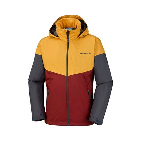 COLUMBIA INNER LIMITS JACKET BLACK, GRAPHITE HEATHER