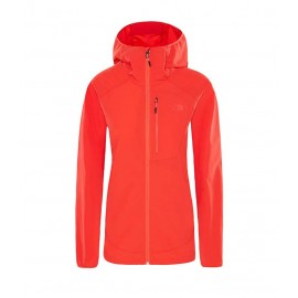 The North Face W NORTHDOME WND JKT JUICY RED