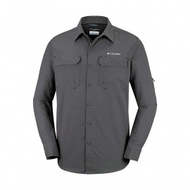 COLUMBIA SILVER RIDGE II LONG SLEEVE S GRILL