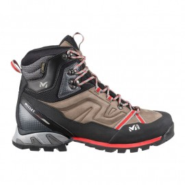 Bota Millet High route GTX fainy brown/red