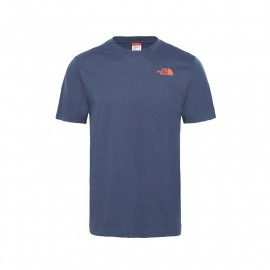 camiseta manga corta THE NORTH FACE red box tee