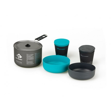 SEA TO SUMMIT ALPHA COOKSET 2.1 GREY