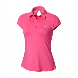 polo COLUMBIA peak to point novelty mujer