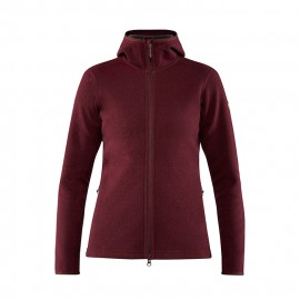 chaqueta FJALLRAVEN high wool hoodie mujer