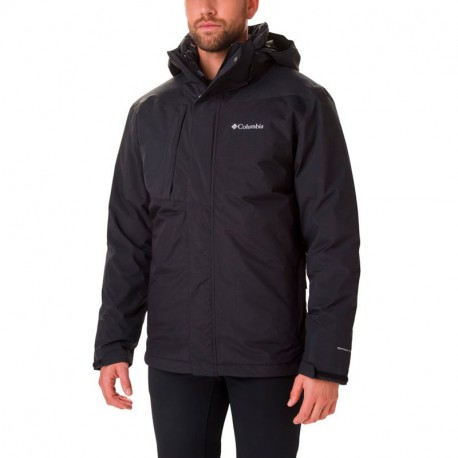 COLUMBIA TOLT TRACK INTERCHANGE JACKET BLACK