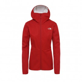 The North Face W QUEST HIGHLOFT SOFT SHELL JA CARDINAL RED HEATHER