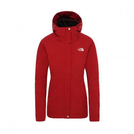The North Face W INLUX INSULATED JACKET CARDINAL RED