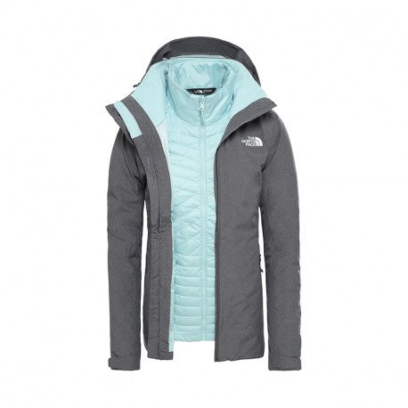 The North Face W INLUX TRICLIMATE - OD GRSAILLEGRYDARKHTR/TINGRY